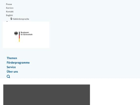 Screenshot von http://www.bag.bund.de/DE/Home/home_node.html